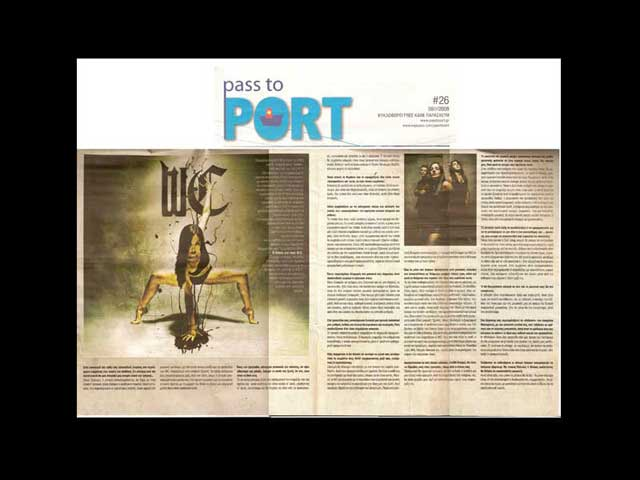 "George Wastor on ""Pass to Port"" newspaper"